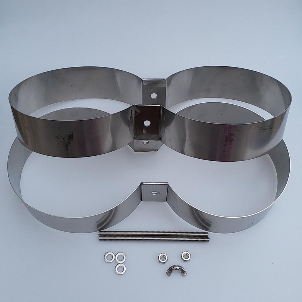 Bandes de montage/connecteur/retenue de réservoir de Double cylindre de plongée de technologie de plongée d'acier inoxydable - 5
