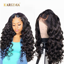 13X4 Brazilian Loose Wave Lace Front Human Hair Wigs For Women 13x6 Invisible Fake Scalp Wig Remy With Baby