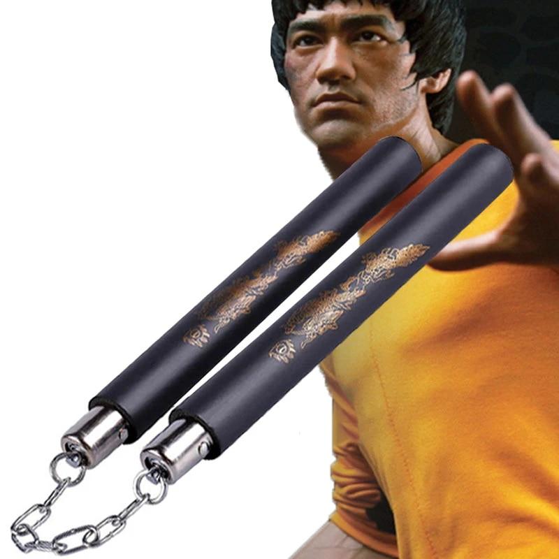 Foam Nunchakus Martial Arts Nunchucks Bruce Lee Pattern Wingchun Kungfu Nunchaku