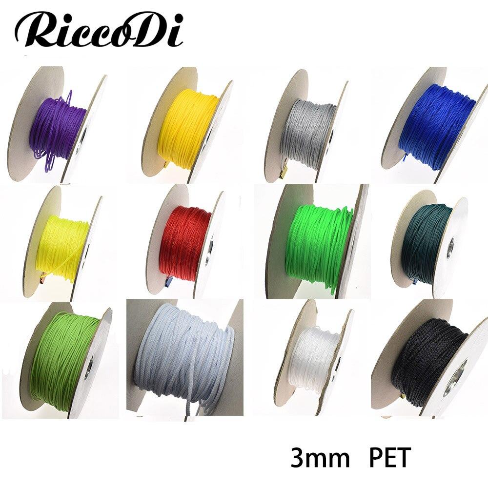 3M Cotton Nylon braided sleeving 4mm 6mm 8mm 10mm 12mm 14mm 16mm Shielding