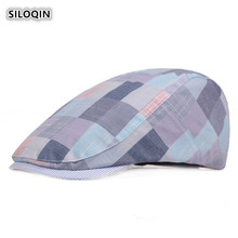 SILOQIN Snapback Adjustable Size Trend Womans Berets  Summer Leisure Tourism Outdoor Motion Mountaineering Tongue Cap Casquette