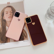 love heart Phone Case For iPhone Shockproof Protective SF