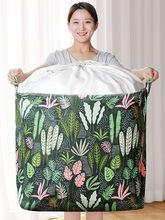 Joybos roupas do agregado familiar cesta grande pano armazenamento caixa de armazenamento em movimento saco roupas saco de classificação dobrável caixa householdfoodtruck
