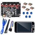 BIGTREETECH SKR V1.3 Motherboard 32-bit con 5 uds. TMC2209 controlador StepStick + TFT35 Kits de pantalla táctil RepRap 3D Tarjeta de impresora MKS