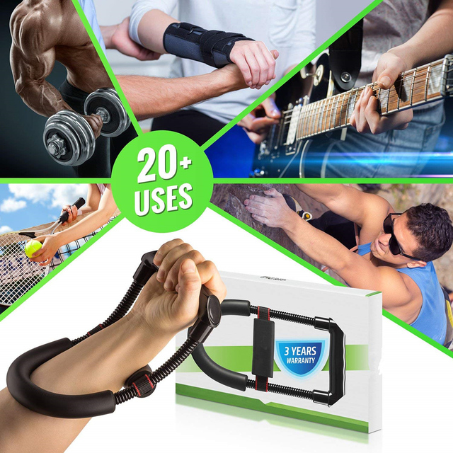 Wrist Strengthener Forearm Exerciser Hand Developer Arm Hand Grips Workout Strength Trainer Home Gym Workout Equipment 5