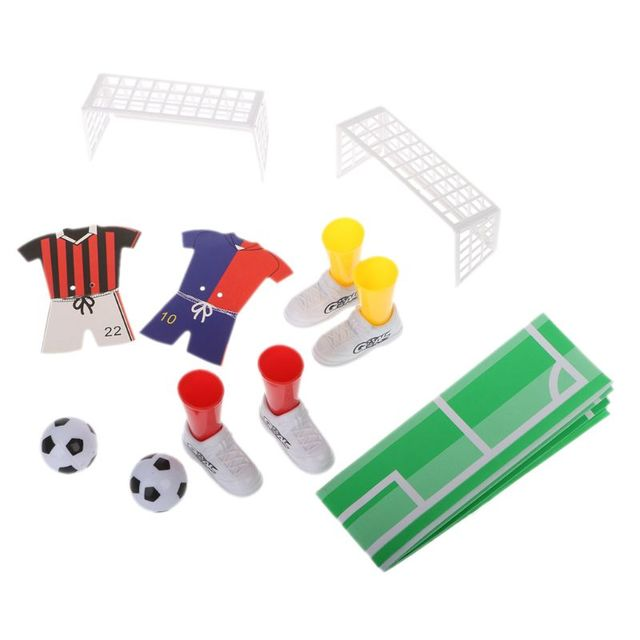 New Jersey Table Soccer Foosball Finger Soccer Match Toy Finger Game Sets Party Favors Kids Toy 6