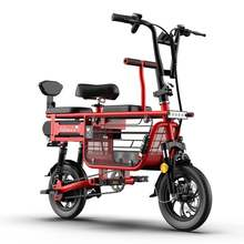 12 дюймовый Электрический велосипед 48v 350w двухколесный из