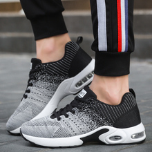 Outdoor Black Golden Max Air Cushion Men Running Shoes Fluorescent Sneakers Good Quality Breathable Men Sport Shoes Air Sneakers