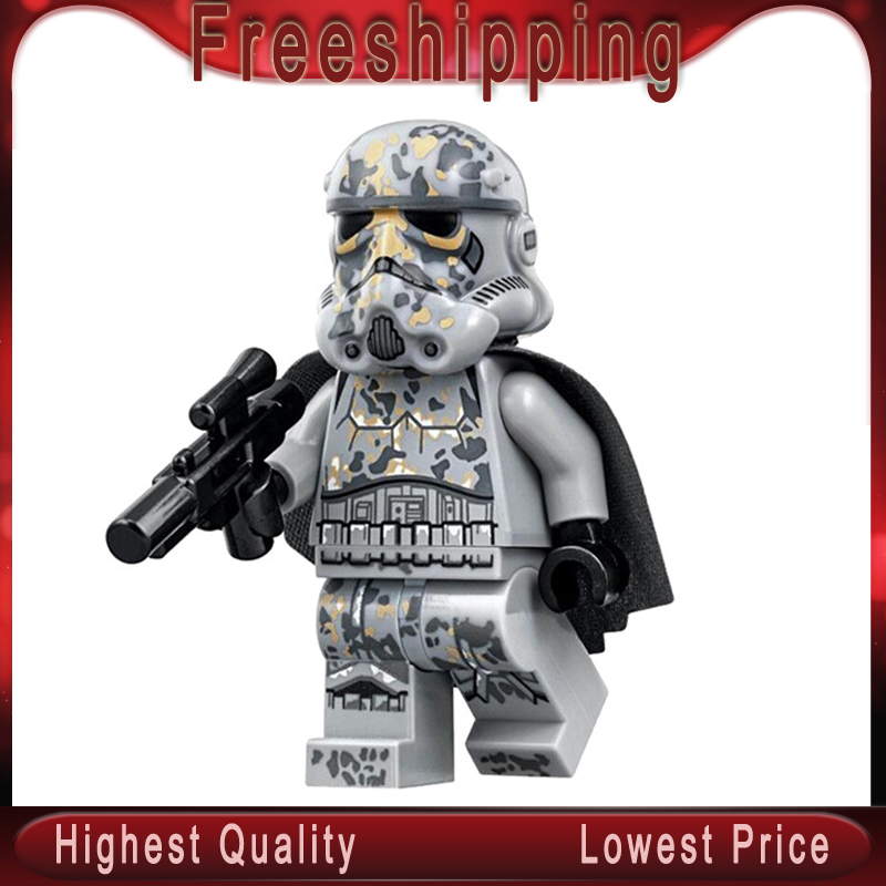 Mimban Stormtrooper VStar Wars Legoed Building Blocks Darth Vader Action Figures Children Toys Gifts Wm551