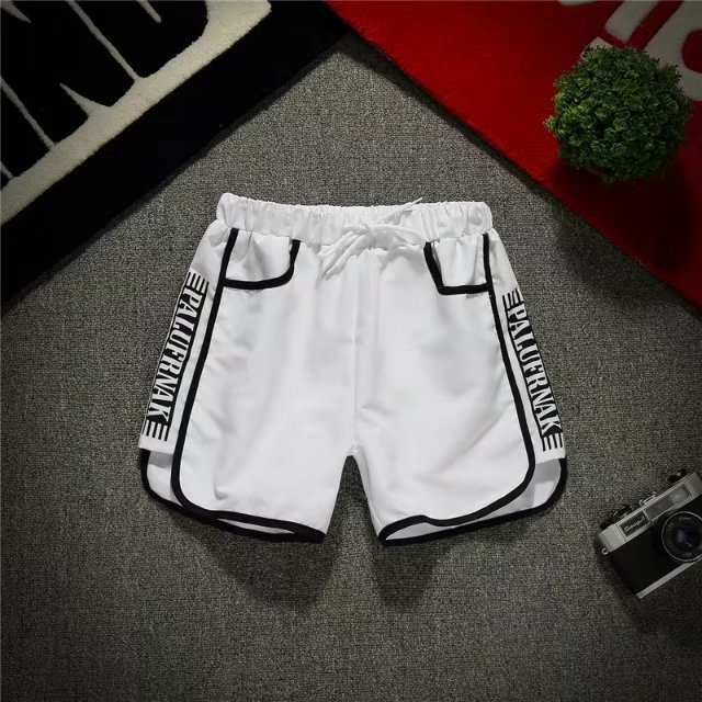 Social Man Shorts Men And Women Summer Slim Fit 3 Pants Deft Reds Celebrity Style Shorts Beach Shorts Summer COUPLE'S