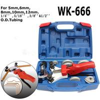 11Pcs Kit 5 12mm WK 666 Multi Copper Pipe Bender Tube Kit Bending with Tube Cutter Tool