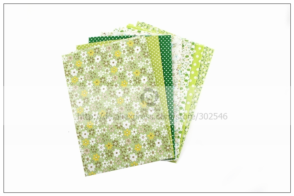 H1b0c9879ef744bbbbcaf8213047c7ea1B 7pcs 24x24cm Mixed Printed Cotton Sewing Quilting Fabrics Basic Quality for Patchwork Needlework DIY Handmade Cloth
