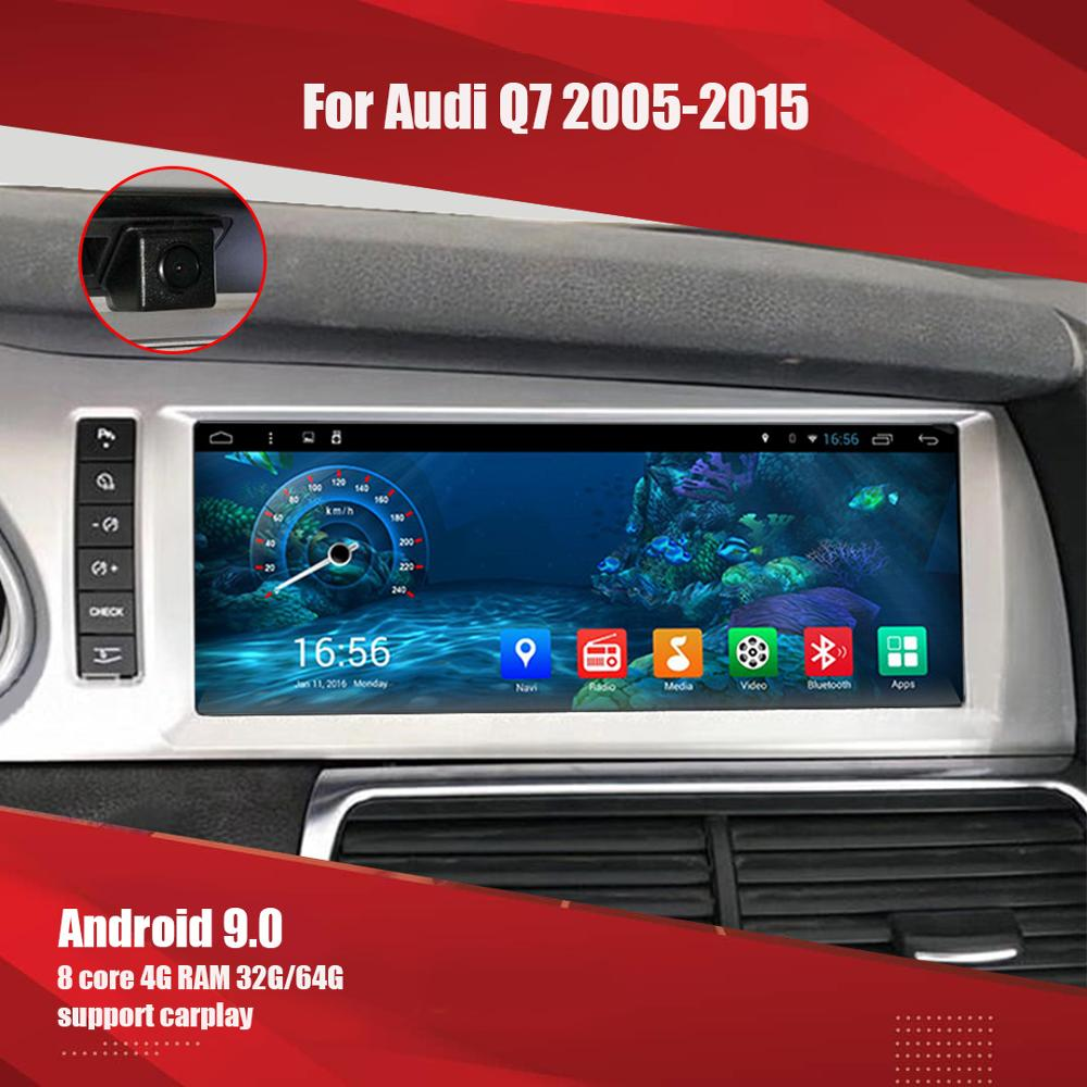 Aucar Android Car multimedia for Audi Q7 Audi A6 2005- 2015 car radio Octa core GPS navigation Radio WIFI Stereo headunit image