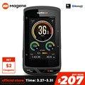 Беспроводной GPS велосипедный компьютер Magene Xplova X5 Evo  Водонепроницаемый Bluetooth 4.0ANT + велосипедный спидометр  поддержка частоты сердечных сокра...