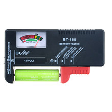 1PCS BT-168 AA AAA 9V 1.5V Batteries Universal Button Cell Battery Colour Coded Meter Indicate Volt Tester Checker BT168 Power