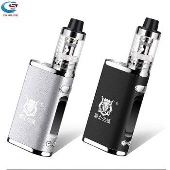 Electronic cigarette Adjustable vape 80W mod box kit Built in 2000mAh battery box mod 3ml tank e-cigarette Big smoke atomizer