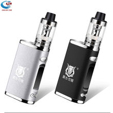 Electronic cigarette Adjustable vape 80W mod box kit Built in 2000mAh battery box mod 3ml tank e-cigarette Big smoke atomizer(China)