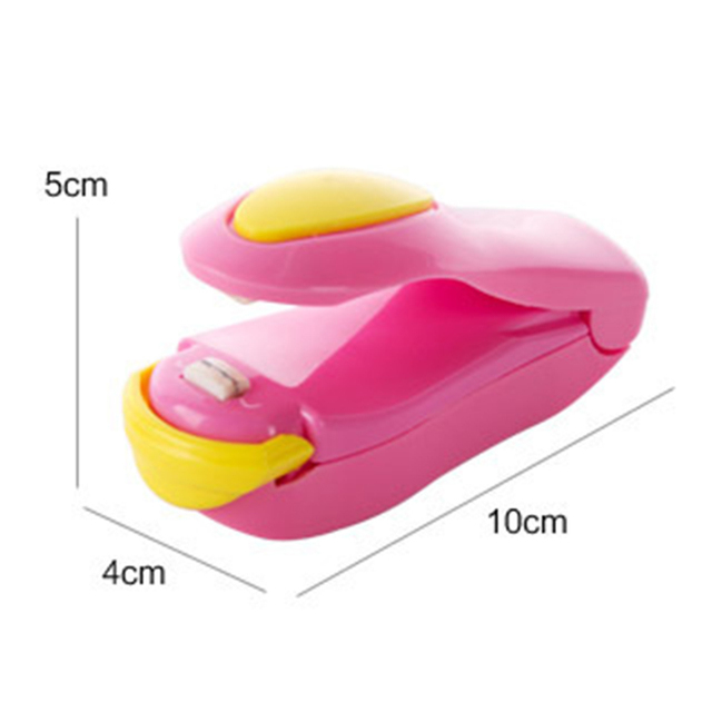 Kitchen Gadgets Mini Sealing Machine Portable Heat Sealer Plastic Bag Storage Packet Handy Sealers Easy Resealer For Food Snack