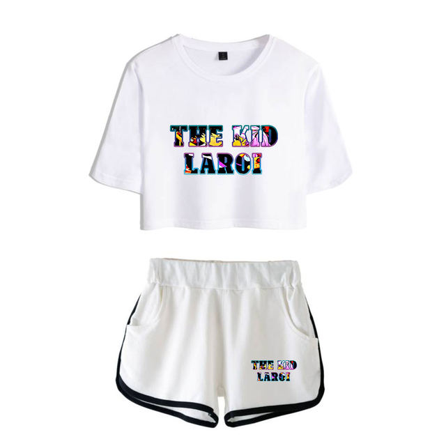 SET THE  KID LAROI THEMED SHORT + T-SHIRT (30 VARIAN)