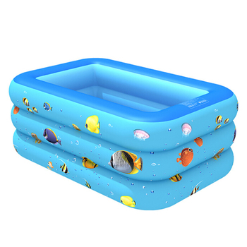 Children Bathing Tub Baby Home Use Paddling Pool Inflatable Summer Swimming Pool Kids Inflatable Pool Ocean Ball 120/130 CM children multi layer bathing tub baby home paddling pool inflatable summer swimming pool kids inflatable pool ocean ball