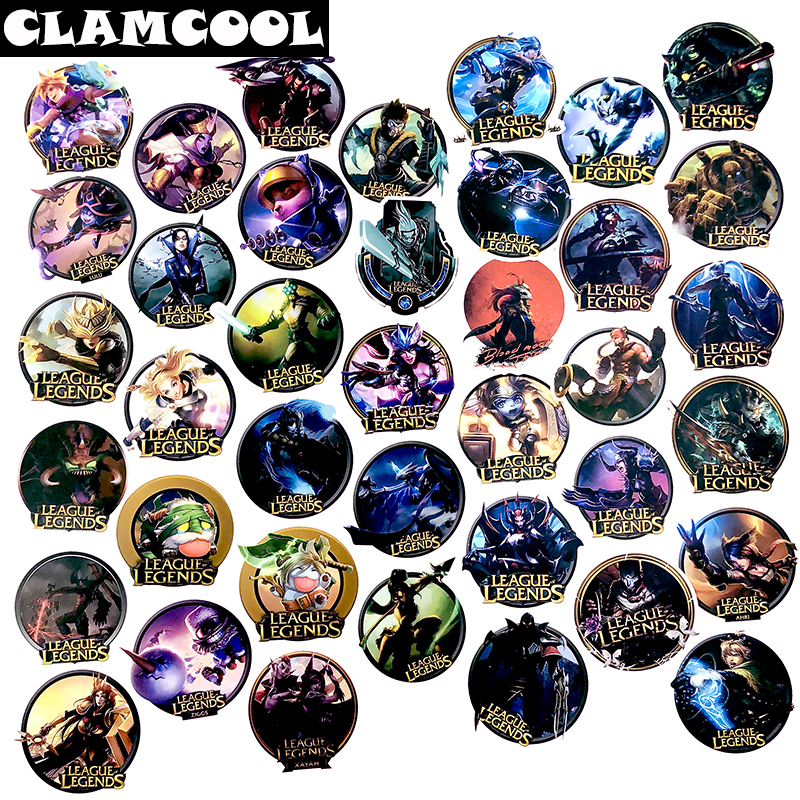 50-100Pcs Classic DOTA Game League Legends Series LOLGame Sticker For Scrapbooking Motorcycle Skateboard Guitar Luggage Suitcase