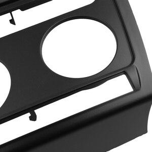 Image 4 - Fascia de Radio para Skoda Octavia con Auto A/C reproductor de DVD 2 Din, Kit de Panel estéreo, de instalación de embellecedor, marco de placa