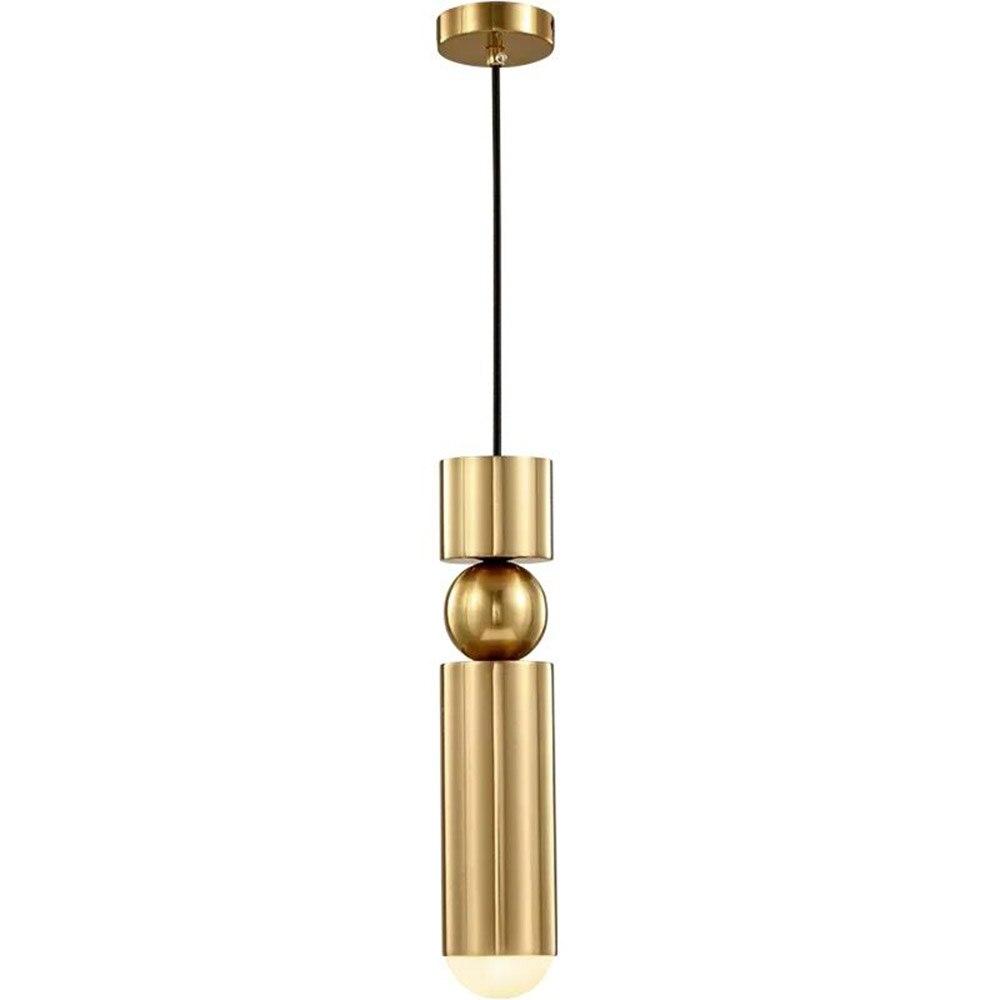 Fss Gold Pendant Lights Indoor Lights Stair Bar Home Indoor Lighting Fixtures Ac 110 240V
