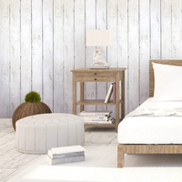 Selbst Aufkleber Vintage Holz 3D selbst klebe Tapete für wände Wandbild Kontaktieren papier Wohnzimmer Küche Bad Home Dekoration