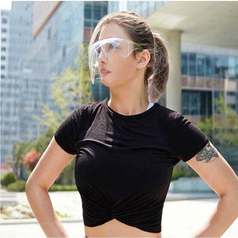 Men's Women's Faceshield Protective Glasses Goggles Safety Glasses Anti-Spray Mask Protective Goggle Glass Sunglasses