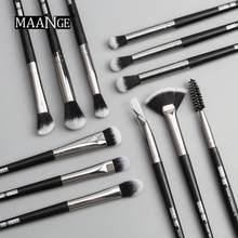 12 adet/takım süper pratik makyaj fırçası yakalamak kolay tozu değil sinek tozu kozmetik aracı sıcak