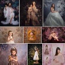 Portrait Photography Backdrop for Photo Studio Floral Texture Newborn Birthday Background Wedding Bridal Shower Photocall Boda