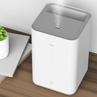 Xiaomi Deerma Air Humidifier LED Home Water Diffuser Humidification Adjustable Fog Volume Family 4L Atomization Aroma Mist Maker
