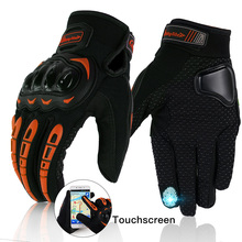 цена Motorcycle Glove Touchscreen  Breathable Summer Gloves Guantes Moto  Racing Climbing Riding Sport Windproof Motocross Gloves онлайн в 2017 году