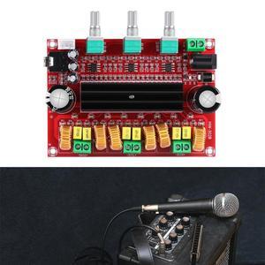 Image 5 - TPA3116D2 2.1 مضخم الصوت الرقمي مجلس تيار مستمر 24 فولت 80Wx2 + 100 واط مضخم الصوت 3 قناة مكبر للصوت وحدة ل 4 8 أوم المتكلم