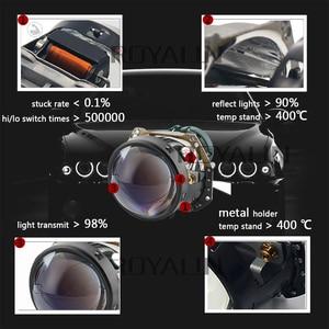 Image 2 - ROYALIN Full Metal D1S D2S D3S D4S Bi Xenon Headlight Lenses Blue For Hella 3R G5 Car Light Retrofit