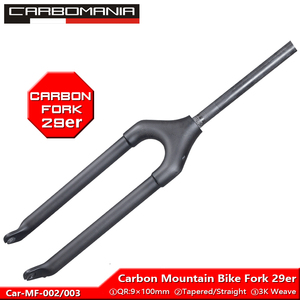 T800 полностью углеродная вилка для горного велосипеда 29er углеродное волокно 3K ткать mtb велосипедная жесткая вилка 29 дюймов прямая/коническа...