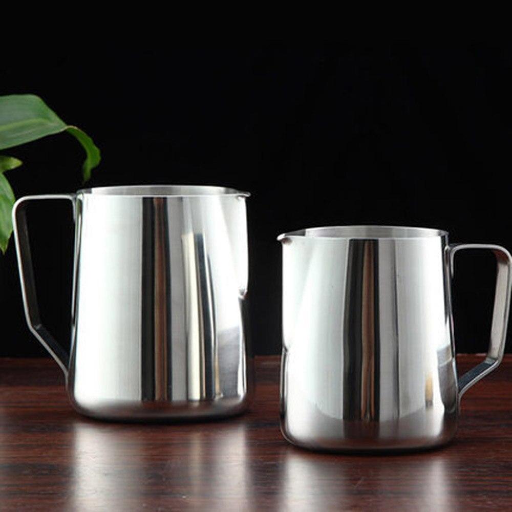 Frothing Milk Pitcher Coffee Latte Jug Espresso Stainless Steel Craft