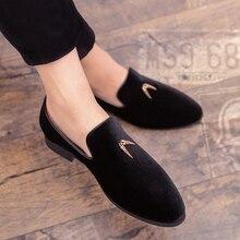 Dress-Shoes Italian-Style Patent Leather Luxury Groom New Fashion Shadow 47 Big-Size