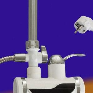 Image 4 - เครื่องทำน้ำอุ่น 3000Wห้องน้ำก๊อกน้ำหน้าจอไฟฟ้าเครื่องทำความร้อนLcdก๊อกน้ำไม่มีร่อง