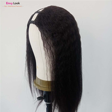 Wigs Salon Human-Hair 150-Density Women for Black Envy-Look Straight-Frontal-Wig Upart