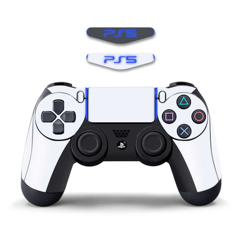 Żaba danych naklejki na skórę na PS4 kontroler winylowa tablica naścienna Protector skóra na PS5 Design na PS4 Slim/akcesoria Pro