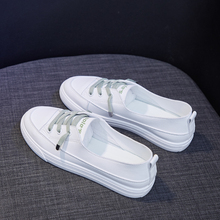 Tenis Feminino 2020 Women Tennis Shoes Tenis New Blancos Lace Up Trainers Flats Shoes Female Fitness Sneakers Chaussures Femme