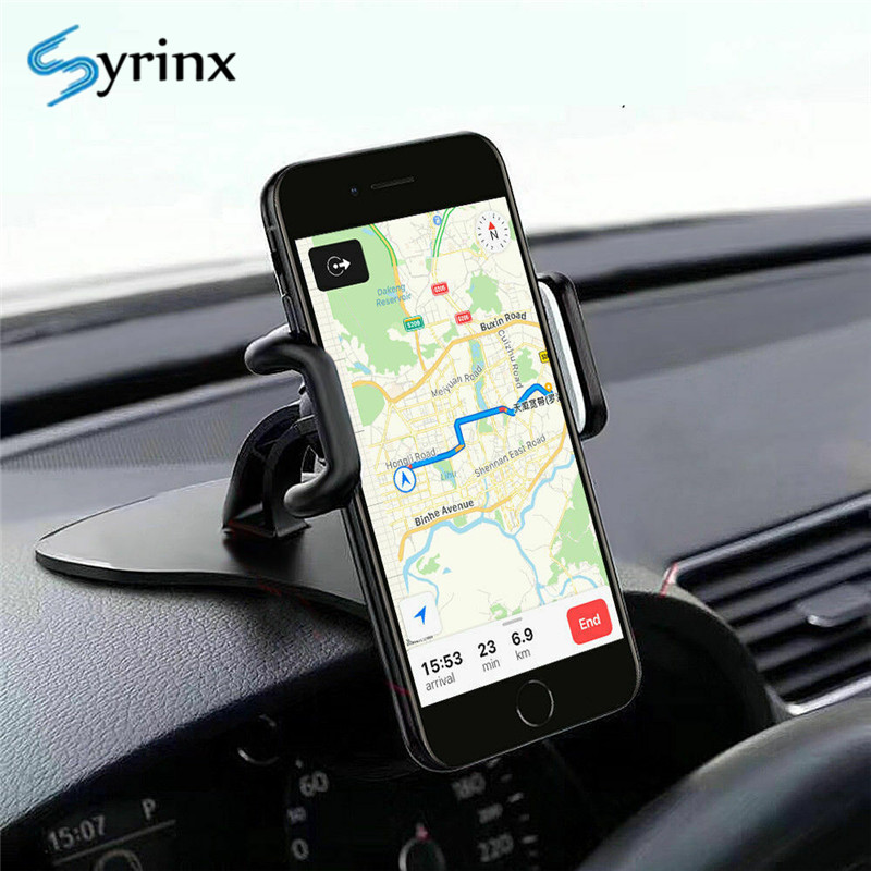 2020 New Car Phone Holder For Dashboard For Iphone 11 PRO HUD Design Clip Car Smartphone Stand 360 Rotation Universal Car Mount