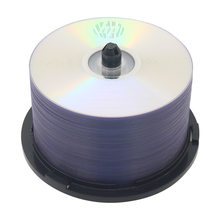 Wholesale 50 discs Authentic 4.7 GB H-Brand Blank Printed DVD R Disc(China)