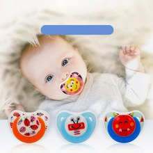 New Newborn Baby Pacifier Dummy Pacifiers Funny Silicone Baby Nipples Teether Soothers Pacifier Infants Baby Dental Care Pacifie(China)
