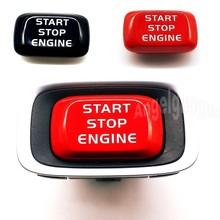 Botão de partida do motor do carro substituir capa parar swtich chave decoração estilo do carro para volvo v40 v60 s60 xc60 s80 v50 v70 xc70