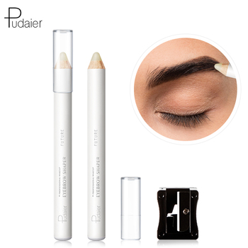 Pudaier 1PC Vitamine E Eyebrow Fixing Pencil Waterproof Makeup Long Lasting Eye Brow Pencil Enclosed with A Sharpener