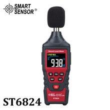 Dijital ses seviyesi gürültü ölçer desibel dedektörü ses test cihazı renk LCD ekran Metro teşhis ses gürültü ölçüm araçları