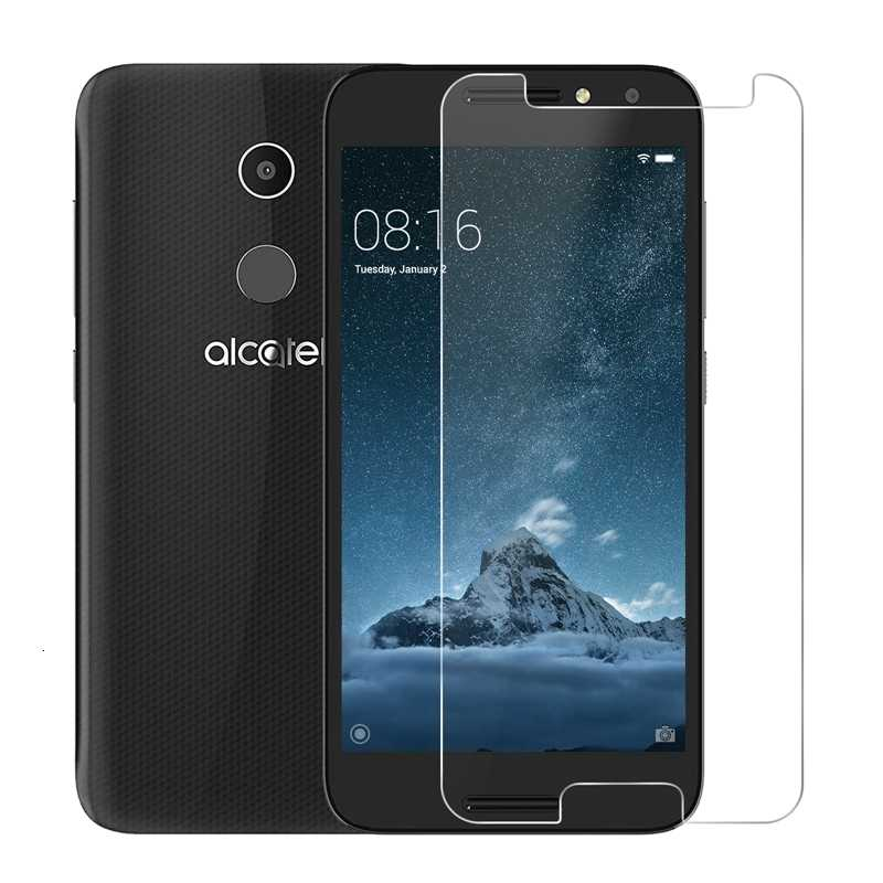 Premium Tempered Glass For Alcatel A3 Screen Protector Toughened protective film For Alcatel A3 2.5D 0.26mm 9H Screen Glass