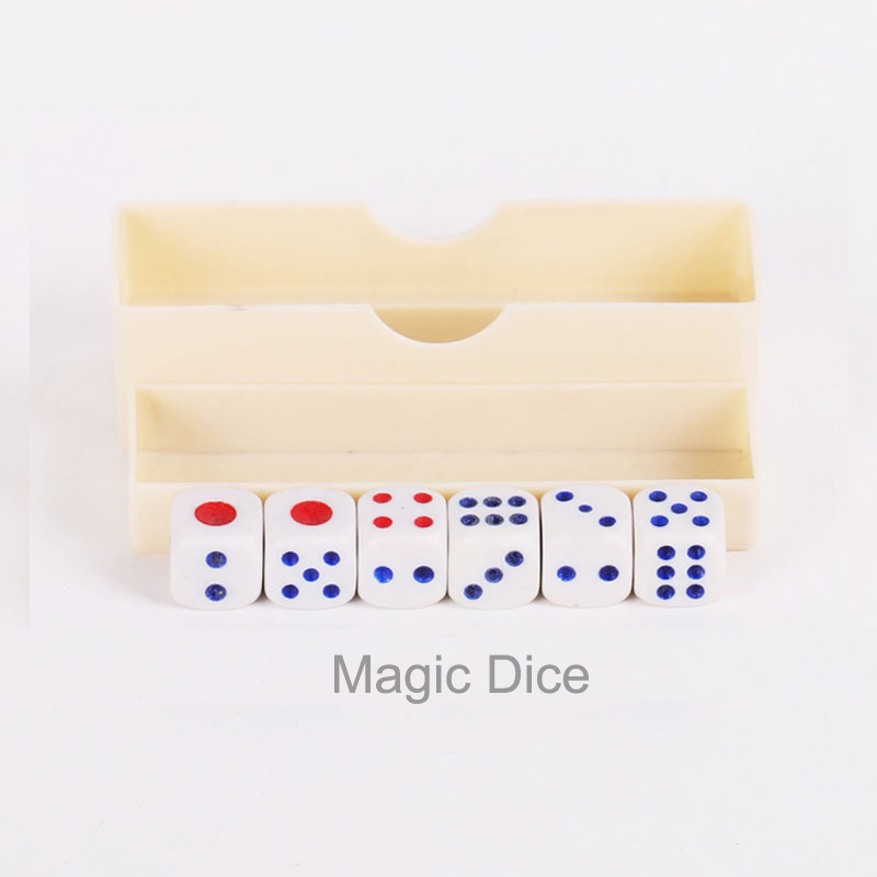 Hot Sale Magic Props Tricks Digital Dice Toy Bar Night Club Party Board Game Children Funny Toys Gifts For Kids Children
